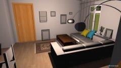 Raumgestaltung Felixs Wohnzimmer in der Kategorie Wohnzimmer