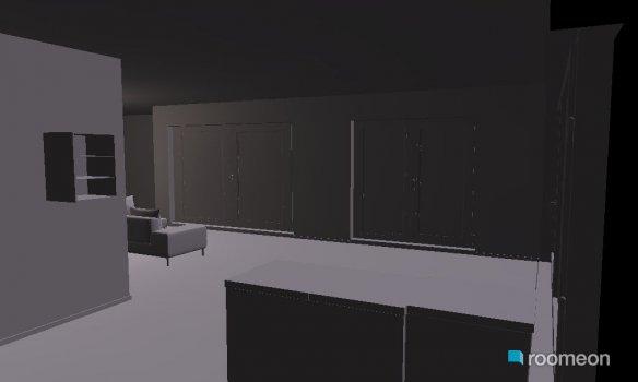 Raumgestaltung Fellentor in der Kategorie Wohnzimmer