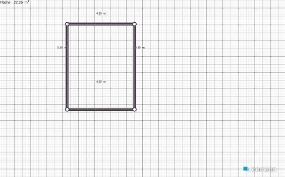 Raumgestaltung Ferdinand-Maria in der Kategorie Wohnzimmer