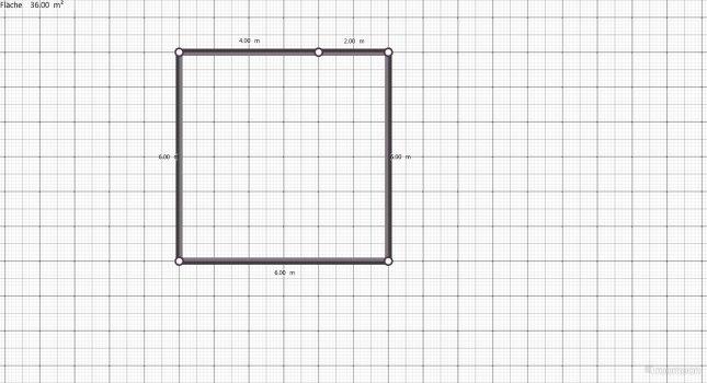Raumgestaltung Ferienwohnung 36,00 qm in der Kategorie Wohnzimmer