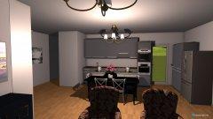 Raumgestaltung Flat Ahe 2 in der Kategorie Wohnzimmer