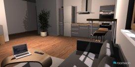 Raumgestaltung flat in der Kategorie Wohnzimmer