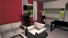 Raumgestaltung Florian & Tanja in der Kategorie Wohnzimmer