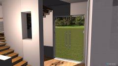 Raumgestaltung Flur und Treppe_offen in der Kategorie Wohnzimmer