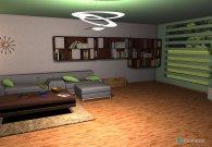 Raumgestaltung Für meine Frau in der Kategorie Wohnzimmer