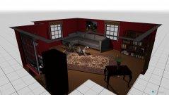 Raumgestaltung gabinet , salon in der Kategorie Wohnzimmer