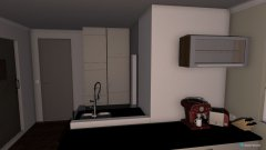 Raumgestaltung Gartengeschoss in der Kategorie Wohnzimmer
