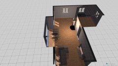 Raumgestaltung Gelbes Haus in der Kategorie Wohnzimmer