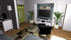 Raumgestaltung Gersthofen Wohnung in der Kategorie Wohnzimmer