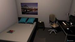 Raumgestaltung Grimberg, anderes Bett in der Kategorie Wohnzimmer
