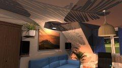 Raumgestaltung Großer Raum in der Kategorie Wohnzimmer