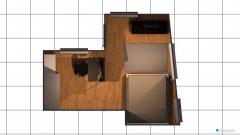 Raumgestaltung Großes WG-Zimmer 4 in der Kategorie Wohnzimmer