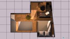 Raumgestaltung Großes WG-Zimmer 6 in der Kategorie Wohnzimmer