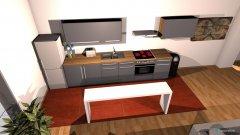 Raumgestaltung Großes Zimmer in der Kategorie Wohnzimmer