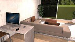 Raumgestaltung Grundriss Loft-Raum in der Kategorie Wohnzimmer