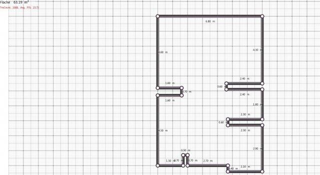 Raumgestaltung Grundriss Siegelweg 2 test in der Kategorie Wohnzimmer