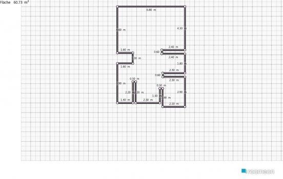 Raumgestaltung Grundriss Siegelweg in der Kategorie Wohnzimmer