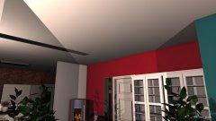 Raumgestaltung Grundriss Wohnzimmer Küche in der Kategorie Wohnzimmer