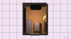 Raumgestaltung Grundriss zukünftiges Arbeitszimmer in der Kategorie Wohnzimmer