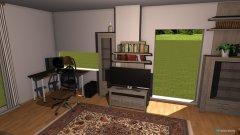 Raumgestaltung grundriss1 wohnzimmer in der Kategorie Wohnzimmer