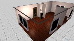 Raumgestaltung Grundrissvorlage Druchbruch in der Kategorie Wohnzimmer