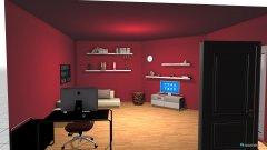 Raumgestaltung Grundrissvorlage Eckraum 2 in der Kategorie Wohnzimmer