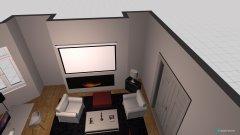 Raumgestaltung Grundrissvorlage Erker Studio in der Kategorie Wohnzimmer