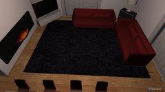 Raumgestaltung Grundrissvorlage Erker in der Kategorie Wohnzimmer