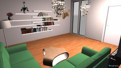Raumgestaltung Grundrissvorlage Küche in der Kategorie Wohnzimmer