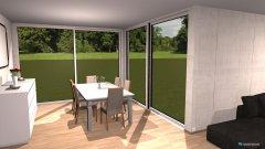 Raumgestaltung Grundrissvorlage Loft-Raum (by: Reyhan C.) in der Kategorie Wohnzimmer