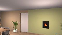 Raumgestaltung Grundrissvorlage Loft-Raum in der Kategorie Wohnzimmer
