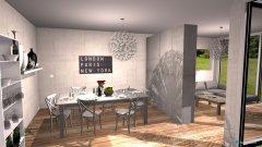 Raumgestaltung Grundrissvorlage Loft in der Kategorie Wohnzimmer