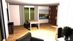 Raumgestaltung Grundrissvorlage Loftraum in der Kategorie Wohnzimmer
