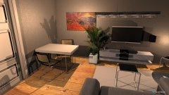Raumgestaltung Grundrissvorlage Quadrat 2 in der Kategorie Wohnzimmer