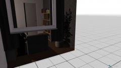 Raumgestaltung Grundrissvorlage Quadrat in der Kategorie Wohnzimmer