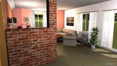 Raumgestaltung Grundrissvorlage Stich in der Kategorie Wohnzimmer