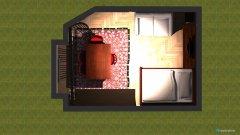 Raumgestaltung Grundrissvorlage SZ02 in der Kategorie Wohnzimmer