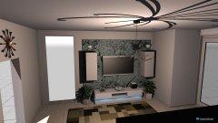 Raumgestaltung Grundrissvorlage Wohnzimmer in der Kategorie Wohnzimmer
