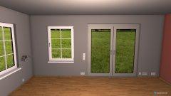 Raumgestaltung GrundrissWzOhneEinrichtung in der Kategorie Wohnzimmer