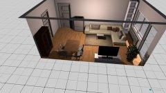 Raumgestaltung Gudrunstraße in der Kategorie Wohnzimmer