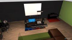 Raumgestaltung Hammer Wohnzimmer in der Kategorie Wohnzimmer