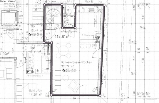 Raumgestaltung Hartstrasse DG in der Kategorie Wohnzimmer