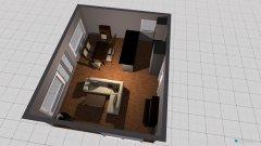 Raumgestaltung Hatzfeld Wohnzimmer in der Kategorie Wohnzimmer