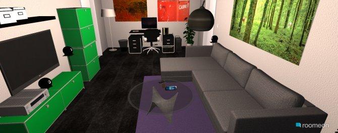 Raumgestaltung Haui Beamer2 in der Kategorie Wohnzimmer