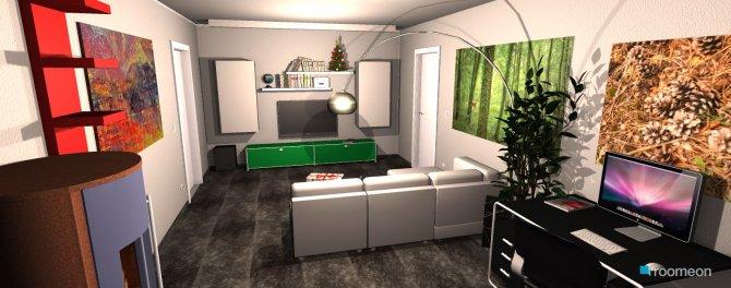 Raumgestaltung Haui Beamer in der Kategorie Wohnzimmer