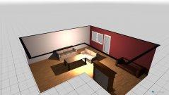 Raumgestaltung Haus 1 in der Kategorie Wohnzimmer