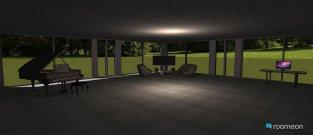 Raumgestaltung Haus 2030 in der Kategorie Wohnzimmer