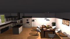 Raumgestaltung Haus Nordenstadt in der Kategorie Wohnzimmer