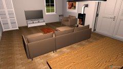 Raumgestaltung Haus Torbogen in der Kategorie Wohnzimmer