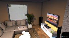 Raumgestaltung Haus WohnEssKüche in der Kategorie Wohnzimmer
